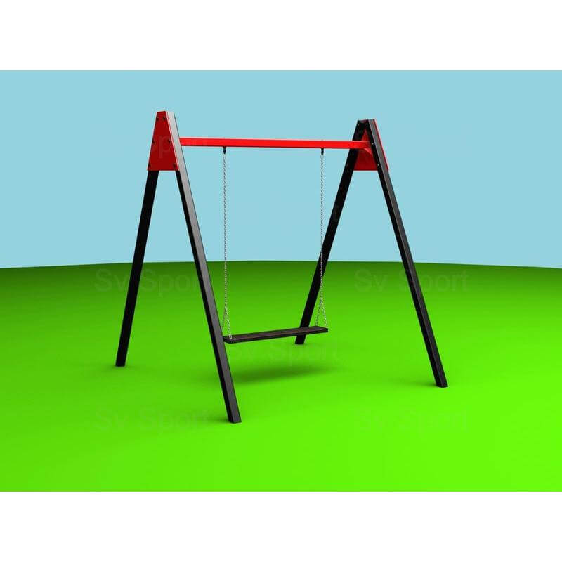 Уличные качели Sv Sport 1,8м (качель деревянная на цепях, двухместная)