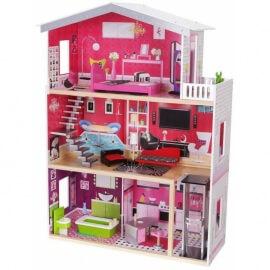 Кукольный домик ECO TOYS Malibu (4118)