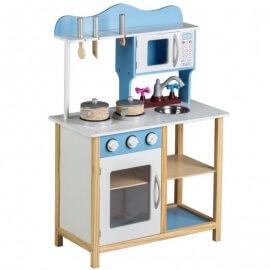Детская кухня ECO TOYS (TK040) голубая