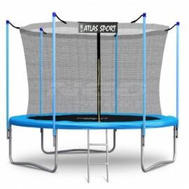 """Батут """"Atlas Sport"""" (10ft) BLUE с внутренней сеткой и лестницей. Диаметр - 312 см. Нагрузка - 150 кг."""