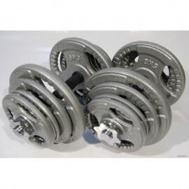 Набор гантелей металлические Хаммертон Atlas Sport 2x29 кг