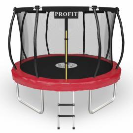 """Батут """"ProFit Premium Red"""" (10 ft) с внутренней сеткой и лестницей. Диаметр - 312 см. Нагрузка - 150 кг."""