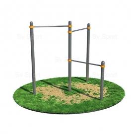 Спортивный комплекс Sv Sport Workout турник тройной для подтягивания ВОРК06 (код: УВОРК06)
