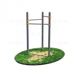 Спортивный комплекс Sv Sport Workout турник, треугольник ВОРК07 (код: УВОРК07)