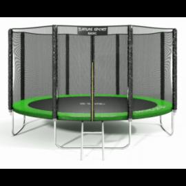 """Батут """"Atlas Sport"""" (13ft) Basic GREEN с внешней сеткой и лестницей. Диаметр - 404 см. Нагрузка - 180 кг."""